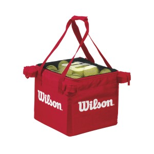 Wilson Teaching Cart Bag - red (wkład do kosza)
