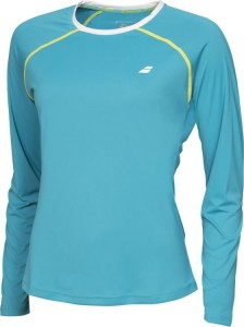 Babolat Long Sleeves Core Women - petrol