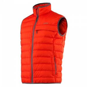 Head Light Insulation Vest Men - flame