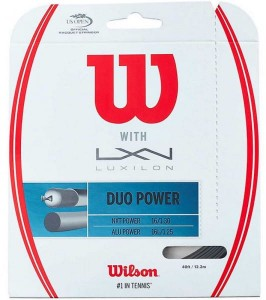 Wilson & Luxilon Duo Power (12,2m)