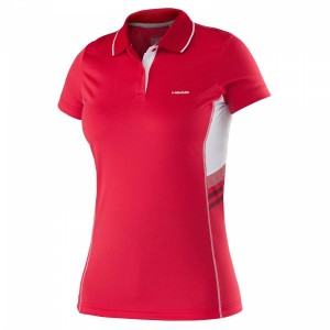 Head Club W Polo Shirt Technical - red
