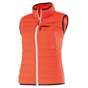 Head Performance W Summer Down Vest - coral