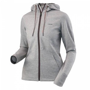 Head Transition Hoody Fz W - grey