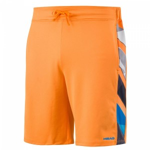 Head Vision Striped Bermuda B - orange