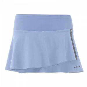 Head Performance Skort W - sky blue