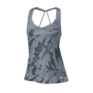 Wilson W SP Art Athletic Tank - grey