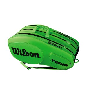 Wilson Team III 12 Pack - green/black