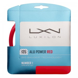 Luxilon Alu Power 1,25mm (12,2m) - red