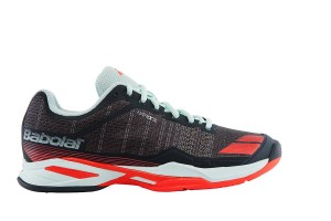 Babolat Jet Team Clay Woman - grey/red/blue