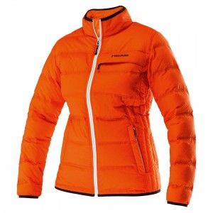 Head Light Insulation Jacket W - coral