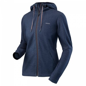 Head Transition Hoody Fz W - navy