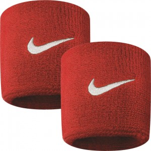 Nike Swoosh Wirstband (2szt.) - red