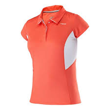 Damska koszulka polo Head Performance W Polo Shirt - coral 814075-CO