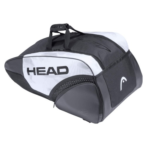 Torba tenisowa na 9 rakiet Head Djokovic 9R Supercombi - white/black 2021